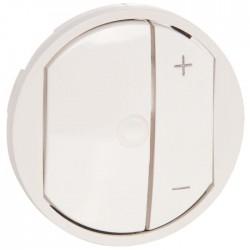 Enjoliveur interrupteur variateur lampe basse consommation Céliane
