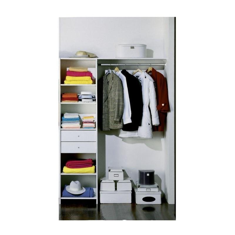 am nagement prisme 2 tiroirs batiramax. Black Bedroom Furniture Sets. Home Design Ideas