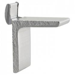 Taquet pour crémaillère aluminium en applique