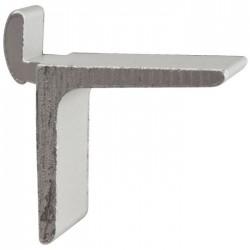 Taquet pour crémaillère aluminium à entailler