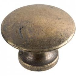 Bouton lentille en bronze